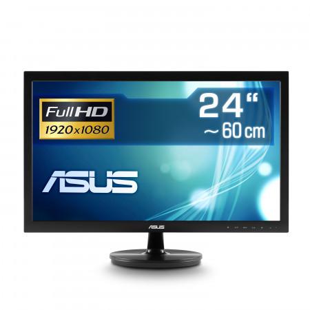 """59,9 cm (24"""") ASUS VS247HR, 1920×1080 (Full HD), VGA, DVI, LED-Backlight"""