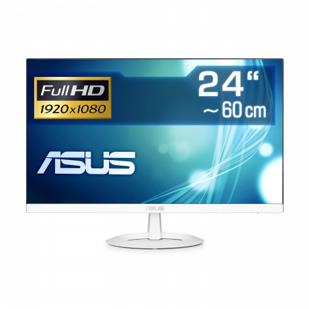 "60 cm (24"") ASUS VZ249HE-W IPS-Panel, 1920×1080 (Full HD), VGA, HDMI, LED-Backlight"