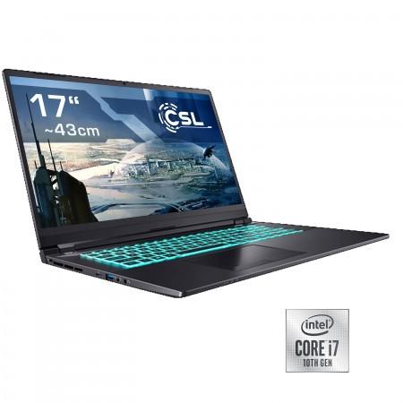 Notebook CSL Gaming i7-10750H / RTX 3070 / 1000GB SSD / 16GB RAM