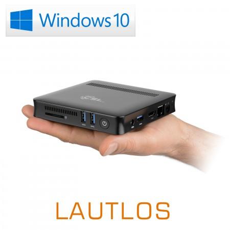 Mini PC - CSL Narrow Box Ultra HD Compact v2 / Windows 10 Home