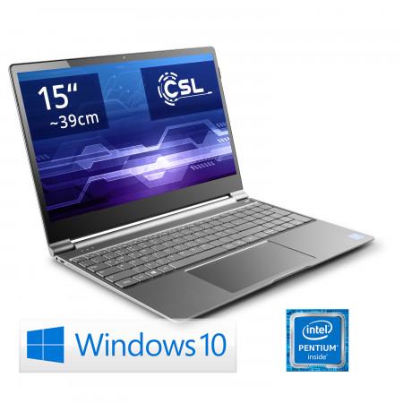 Notebook Ultra-Slim CSL R'Evolve C15 / 240GB M.2 SSD / Win 10 Home