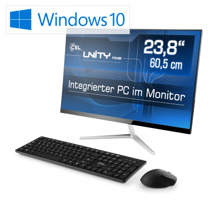 All-in-One-PC CSL Unity F24B-GL / Win 10 Home