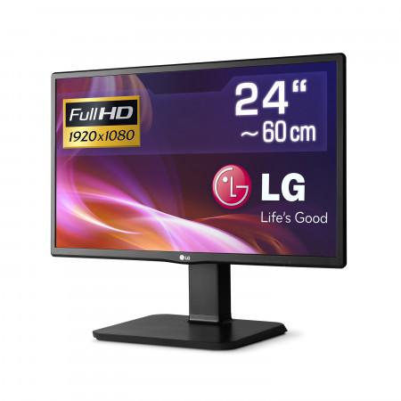 "61 cm (24"") LG 24BK450H-B, 1920x1080 (Full HD), IPS-Panel, VGA, HDMI, LED-Backlight"