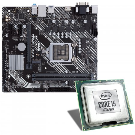 Intel Core i5-10600 / ASUS PRIME H410M-E Mainboard Bundle