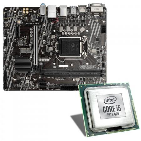 Intel Core i5-10600 / MSI H410M-A Pro Mainboard Bundle
