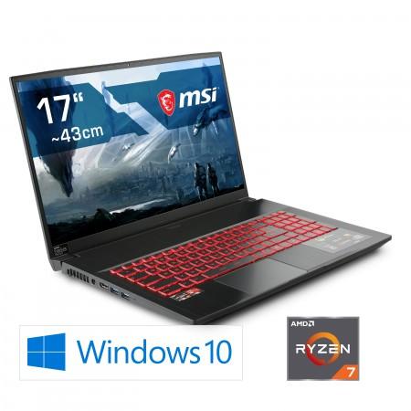 Notebook MSI Bravo 17 A4DDR-007 / Ryzen 7 4800H / Radeon RX 5500M / Windows 10 Home