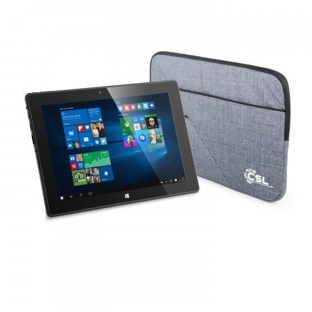 CSL Panther Tab 10 USB 3.1 64GB / Win 10 Pro / Tasche
