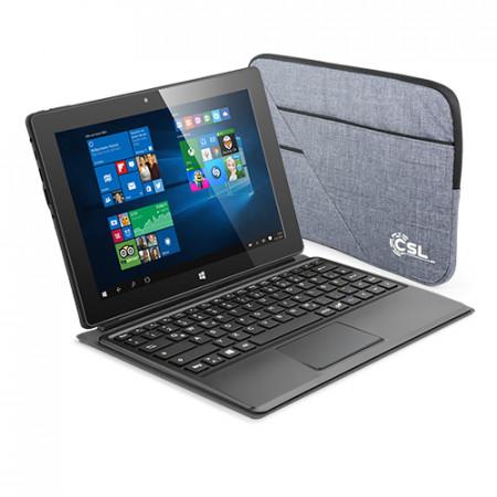 CSL Panther Tab 10 USB 3.1 64GB / Win 10 Pro / Tastatur / Tasche
