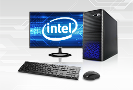 Intel PC-Systeme mit Monitor