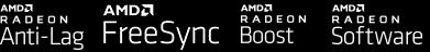 Radeon Anti-Lag, FreeSync, Radeon Boost, Radeon Software