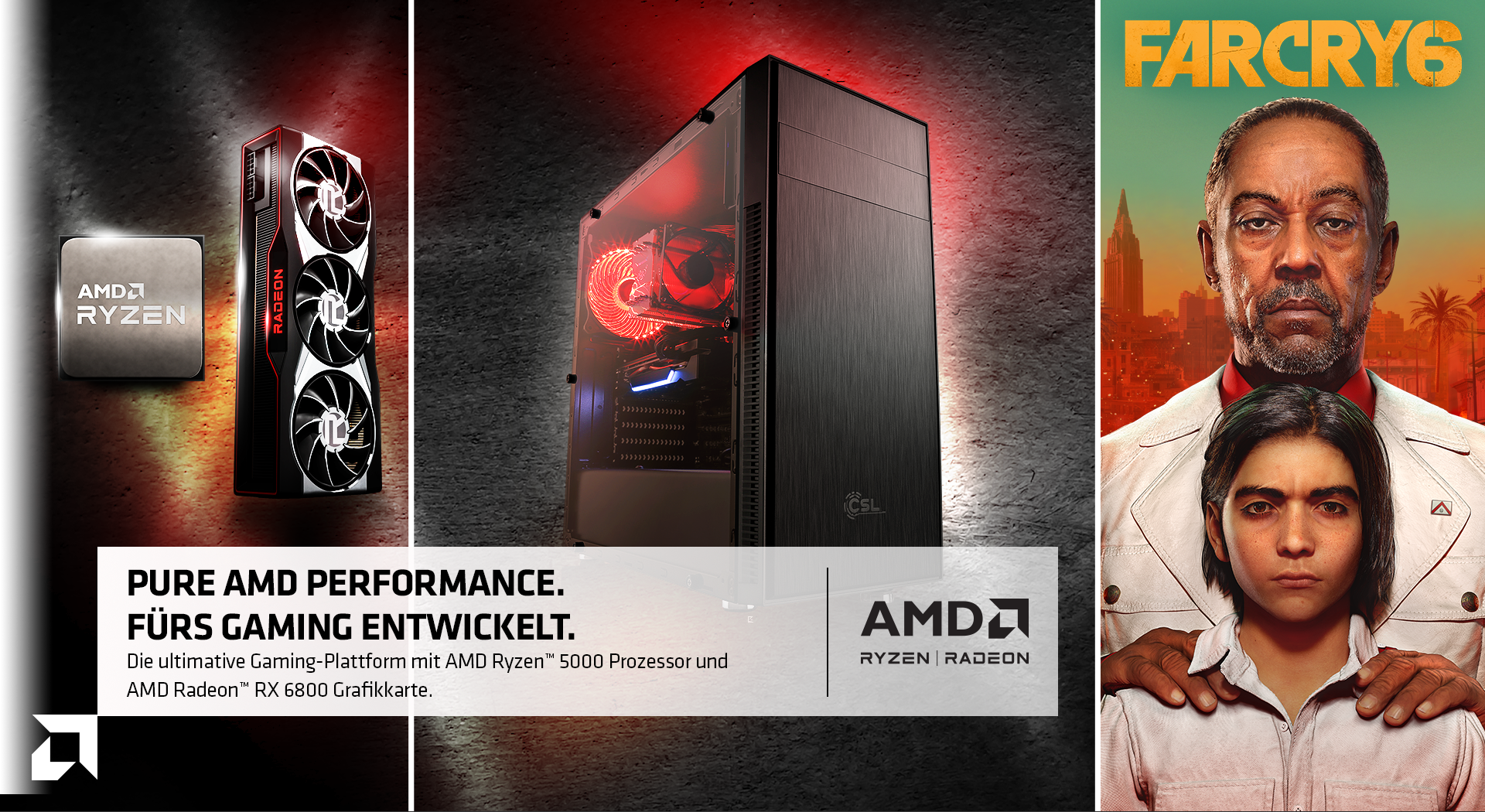 AMD Ryzen Radeon