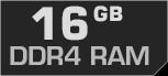 16 GB DDR4-RAM