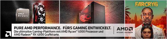 AMD Ryzen Radeon Farcry 6
