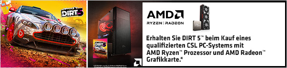 AMD Ryzen Radeon Dirt 5