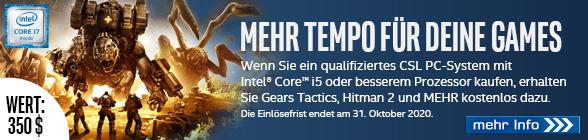 Intel Mehr Tempo für Ihre Games