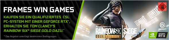 Nvidia Frames Win Games Rainbow Six Siege Gold-Game Bundle