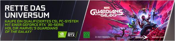 Nvidia Marvel Guardians of the galaxy