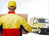 DHL holt Ihren PC bei Ihnen ab
